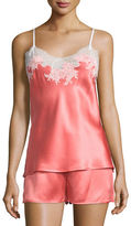 Natori Jasmine Lace-Trimmed Two-Piece Nightie Set