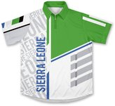 Sierra Leone ScudoPro Technical Polo Shirt for Men and Women - Size M