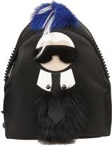 Fendi Black Karlito Backpack