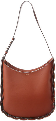Chloé Darryl Medium Smooth Leather Hobo Bag