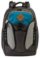 Jeep Adventurers Backpack Diaper Bag - Gray/Teal