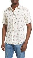 7 Diamonds Men's Katmandu Print Woven Shirt