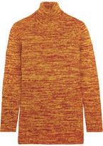 Miu Miu Wool Turtleneck Sweater - Orange