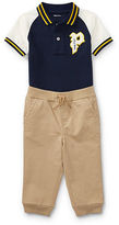 Ralph Lauren Boy Polo Shirt & Pant Set