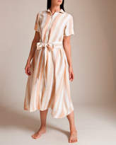 Lisa Marie Fernandez Linen Shirt Dress