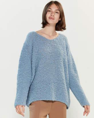 Roberto Collina Texture Long Sleeve Sweater