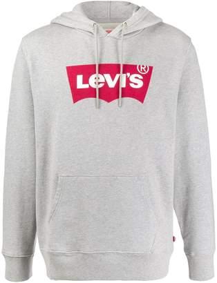 Levi's logo print hoodie