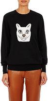Loewe Women's Cat Wool-Blend Sweater-BLACK