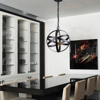Brayden Studio Ressington 1 - Light Single Globe Pendant
