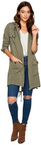 BB Dakota Frank Rayon Twill Army Parka Women's Coat