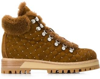 Le Silla hiking fur boots