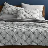CB2 Prisma Black-White King Quilt