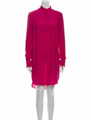 Alexander McQueen 2012 Knee-Length Dress Pink