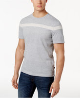Michael Kors Men's Textured Striped T-Shirt