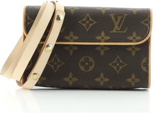 Louis Vuitton Florentine Waist Bag Monogram Canvas S
