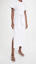 Thumbnail for your product : JONATHAN SIMKHAI STANDARD Sara Cotton Jersey T-Shirt Dress