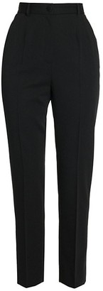 Dolce & Gabbana Slim-Leg Wool Pants