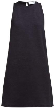 Marina Moscone - Silk-blend Tunic Top - Womens - Black