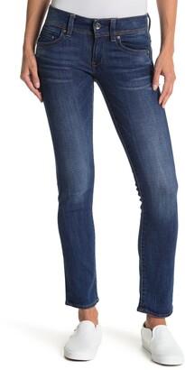 Midge Saddle Mid Rise Straight Leg Jeans