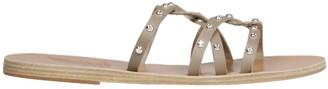 Ancient Greek Sandals Revekka Rivets Flat Sandals