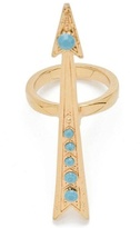 CC Skye Pave Hendrix Ring in Gold