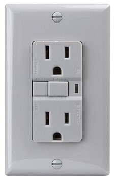 15-Amp GFCI Duplex Outlet Northlight Seasonal