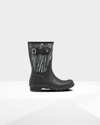 Hunter Women's Original Short Marble Wellington Boots