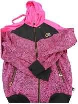 Nike Pink Synthetic Jackets