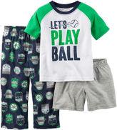 Carter's Car Racer 3-pc. Pajama Set - Baby Boys 12m-24m