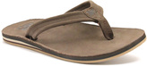 Lamo Chocolate Sunriver Leather Flip-Flop - Women