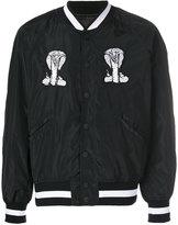 Kokon To Zai embroidered bomber jacket