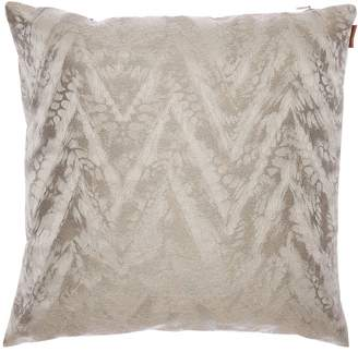Missoni REUNION COTTON BLEND JACQUARD PILLOW