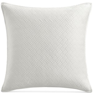 Hotel Collection Closeout! Classic Botanical Toile Quilted European Sham, Created for Macy's Bedding