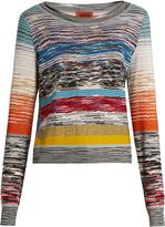 Missoni Striped fine-knit sweater