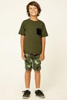 Forever 21 FOREVER 21+ Boys Camo Knit Shorts (Kids)