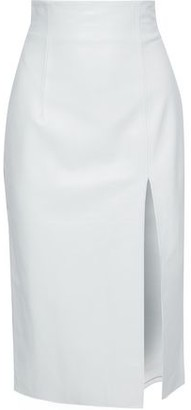 16Arlington Leather Pencil Skirt