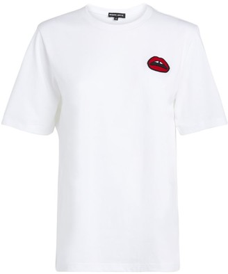 Markus Lupfer Lips Applique T-Shirt