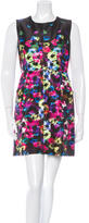 Milly Sleeveless Abstract Print Dress