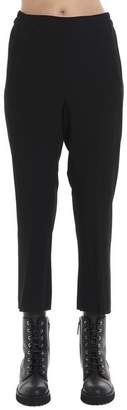 Ann Demeulemeester Cropped Elastic High Waisted Pants