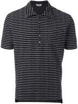 Thom Browne striped polo shirt - men - Cotton - III