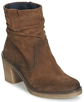 Dorking REBE women's Low Ankle Boots in Brown