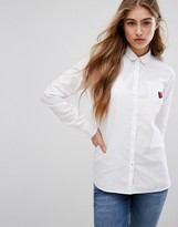 Tommy Hilfiger Oxford Shirt with Strawberry Patch