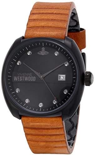Vivienne Westwood Men's VV080BKTN Bermondsey Analog Display Swiss Quartz Brown Watch