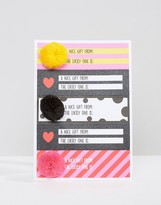 Monki Holidays Pom Gift Tags