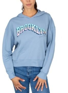 Rebellious One Juniors' Brooklyn Hooded Sweatshirt