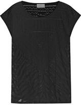 Camilla Animal Africa Burnout Cotton-Blend Jersey T-Shirt