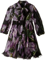 Dolce & Gabbana City Tulip Chiffon Dress (Toddler/Little Kids)
