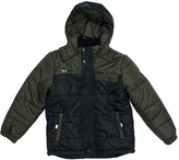 Big Chill Black Colorblock Bubble Jacket - Toddler & Boys