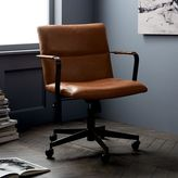 Cooper Mid-Century Leather Office Chair