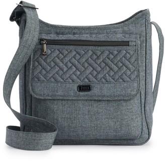 Lug Hopscotch Quilted RFID-Blocking Crossbody Bag